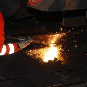 Mobile welding services